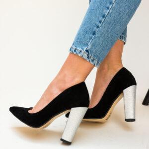 Pantofi Femei Epica, crem,cu toc - WeShoes