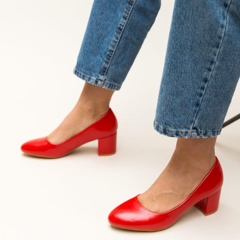 Pantofi cu toc mic - Pantofi.Elyana.ro